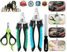 More details for dog nail clippers pet cat rabbit sheep animal claw trimmer grooming large small.