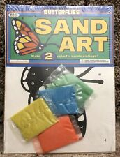 Butterflies Sand Art © 1997 Pace Products # 85175 Make 2 Colorful Sand Paintings