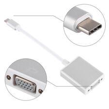 I51 USB 3.1 tipo c en VGA adaptador convertidor de gráficos para MacBook proyector 1080p