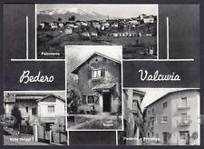 VARESE BEDERO VALCUVIA 02 SCERRÈ - VEDUTINE Cartolina FOTOGRAFICA viaggiata 1960