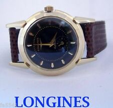 Solid 14k LONGINES Automatic Watch 2164-2 1960s Cal.19A* EXLNT SERVICED* RARE