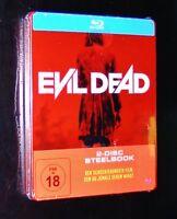 Evil Dead 2 Disco Steelbook Edición -kunda Astratta Montosse Canda- Blu Ray Neu