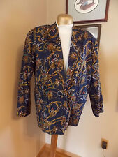 Sportific Collection Millers Sportsware Polo Print Blazer Jacket Ladies Large