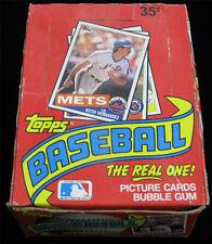 1985 Topps Baseball _RARE_ Unopened Wax Box 36 Sealed Packs Fresh From Case _PSA
