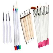 23Pcs Nail Art Polish Painting Pens Brush Tips Set Nail Brushes Exquisite