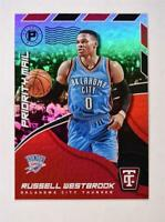 2017-18 Totally Certified Priority Mail #3 Russell Westbrook