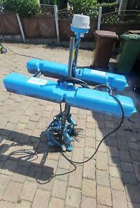 Force 7 Lake aerator for aquaculture carp fishery management