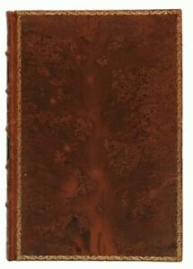 Thomas Carlyle: Past and Present FULL LEATHER TREE CALF BICKERS AND SON