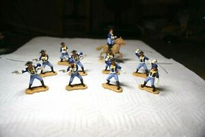 Timpo Toys 7th Cavalry Soldiers - 10 figures