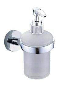 Wall Mounted Bathroom Kitchen Soap Dispenser Shower Gel Liquid Pump Hand Wash UK