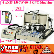 345axis Cnc Router 6040 Usb 1500w Router Milling Engraving Cutting Machine Us