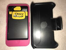 Otterbox Defender Series case & Belt clip for Apple iPhone 4 / 4s Pink MRSP $59