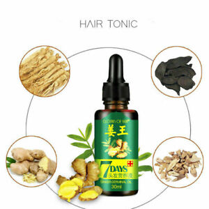 Regrow 7 Day Ginger Germinal Hair Growth Serum Hairdressing Oil Hair Relief