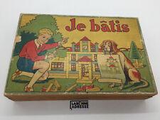 JE BATIS JEUX DE CONSTRUCTION VINTAGE