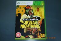 Red Dead Redemption Undead Nightmare Xbox 360 UK PAL **FREE UK POSTAGE**