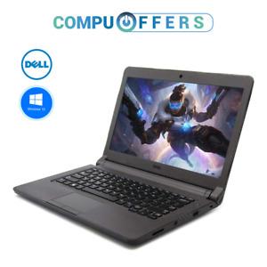 "Dell Latitude 13.5"" Laptop Business PC Computer 4GB RAM 500GB HDD Windows 10"