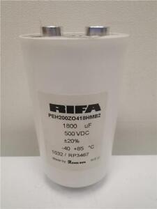 1 x EVOX RIFA / KEMET 1800uF 500V DC ±20% PEH200ZO418HMB2 Electrolytic Capacitor