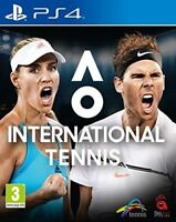AO International Tennis PS4 New and Sealed