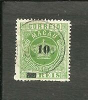 PORTUGAL MACAO YV # 23, USED