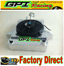 Triumph GT6 1966-1973 70mm aluminum alloy radiator + 10'' 12V fan 67 68 69