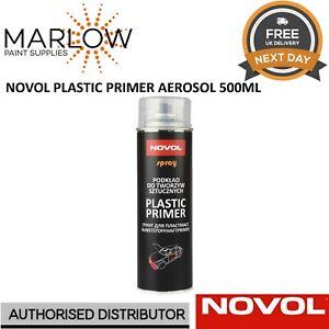 1 X NOVOL PLASTIC PRIMER AEROSOL 500ML BUMPER ADHESION PROMOTER