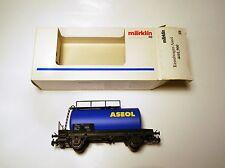 """SBB CFF Kesselwagen tanker car """"ASEOL"""", Märklin Marklin #4441,900 1:87 H0 boxed!"""