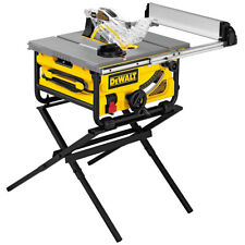 DeWalt DW745S 10-Inch 15-Amp Heavy Duty Corded Job Site Table Saw W/ Stand