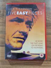 FIVE EASY PIECES DVD Film Movie Cert 15