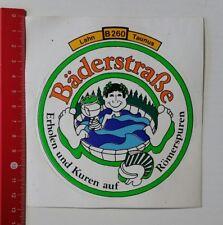 Pegatina/sticker: Lahn B 260 Taunus-bäderstraße recuperarse y curas (200217134)
