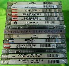 Lot of 15 SEALED Female Vocalists CDS CHER, CELINE, PINK, JEWEL +++