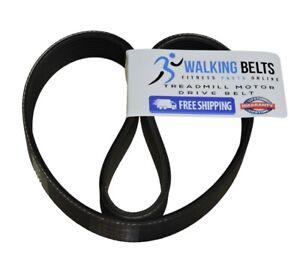 Walking Belts LLC - 297790 ProForm J6SI EKG Treadmill Motor Drive Belt +1oz Lube