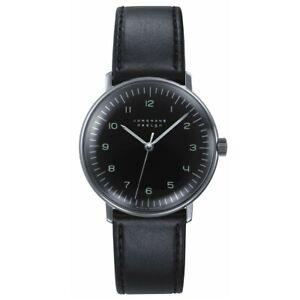 Junghans Men's Max Bill 027/3702.04 Hand Wind Watch - 027/3702.00 NEW