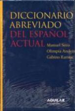 Diccionario Abreviado Del Espanol Actual/abbreviated Diccionary of-ExLibrary