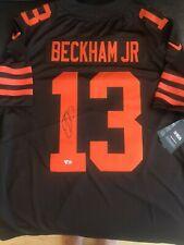 Odell Beckham Jr. Cleveland Browns Signed Nike Brown Color Rush Limited Jersey
