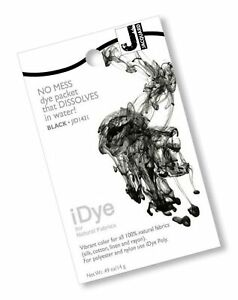 Jacquard 103108 iDye Fabric Dye 14 Grams-Black Black