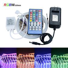 5M RGBW 3014 1080LEDs Strip light SMD 40 Key Remote 12V US EU Power Full Kit