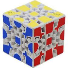 Gear Cube Extreme White - Meffert's Rotation Brain Teaser Puzzle