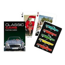 VOITURES CLASSIQUES Lot de 52 cartes à jouer ( Gib )
