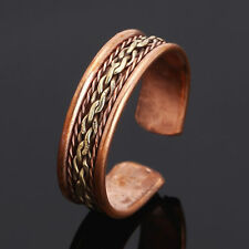 Men Tibetan Medicine Ring Copper Magnetic Adjustable Ring With Pure Copper