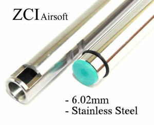 ZCI Airsoft 6.02mm AEG Tightbore Inner Barrels Stainless Steel