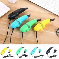 Computer Keyboard USB Vacuum Cleaner Brush Dust Remover Cleaning Tools PC Laptop