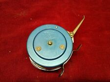 Vintage Martin Mohawk Automatic Fly Fishing Reel Blue 8A N.Y. USA VGC.
