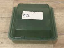"""(3) Qty G.E.T. 3 Compartment Jade Polypropylene Eco-Takeout Container 9""""x 9""""x 3�"""