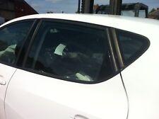 2008 - 2013 MK5 SEAT IBIZA 6J NSR PASSENGER SIDE REAR WINDOW DROP GLASS 5DR