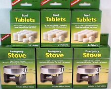 3-SURVIVAL EMERGENCY STOVES W/ 144 HEXAMINE ESBIT FUEL TABLETS KEEP WARM COOK #2