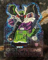 2003 Fleer Transformers Armada Die Cut Foil trading card 5 of 9 AD Megatron