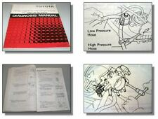 Toyota Celica ST162 Engine 3S-GE Diagnosis Manual with TCCS