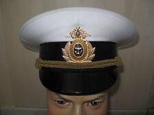 Casquette officier Marine Navale RUSSIE SEBASTOPOL URSS T.55