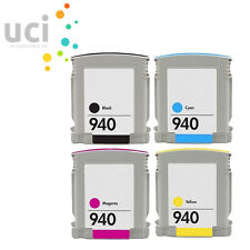 4 UCI® Ink Cartridge fits for Officejet Pro 8000 8000 8500 Wireless 940XL