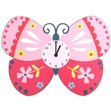 🦋 THE BUTTERFLY CLOCK 🦋 Perfect For Children's Or Baby Bedrooms Nursery Idea